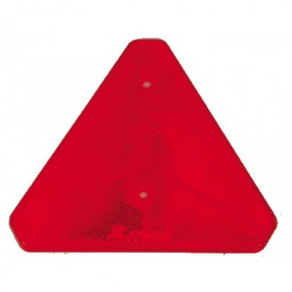 Red safety triangle